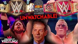 WWE RAW Cancelled In 2019?! *UNWATCHABLE!*