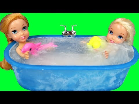 Xxx Mp4 Ice Bath Elsa Anna Toddlers Bubbles Foam 3gp Sex