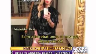 Andreea Bănică si Delia Matache, in razboi?