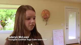 Mother & 10 Year Old Daughter Become Yoga Teachers Together