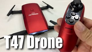 GoolRC T47 FPV Drone Foldable with Wifi Camera Live Video Review