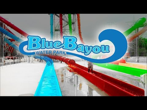 AWESOME ROLLER COASTERS & WATER SLIDES - Blue Bayou Dixie Landin' - Things to Do In Louisiana