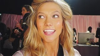 Backstage @ 2014 VS Fashion Show   Karlie Kloss