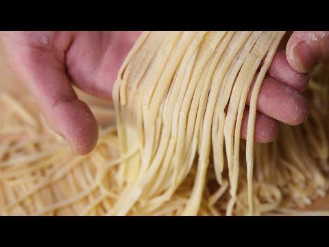 Xxx Mp4 THE ART OF HOMEMADE NOODLES How To Make Chinese Noodles At Home Recipe 3gp Sex