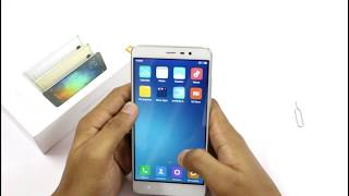 UNBOXING| XIAOMI REDMI NOTE3 (2GB RAM SILVER VARIANT) | HINDI