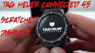 Scratched Display on $1700 Watch? Tag Heuer Connected Modular Unboxing