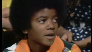American Bandstand 1972- Interview Michael Jackson