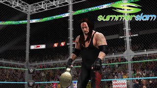 Undertaker vs. Edge: SummerSlam 2008|World Champion|Hell In A Cell Match-WWE-2K16-Simulation