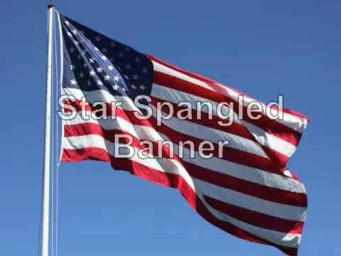 Star Spangled Banner lyrics vocals and