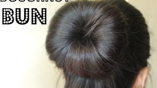 How to Make a Bun Using a Hair Doughnut