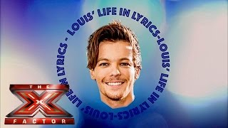 Louis Tomlinson plays Louis' Life In Lyrics | The Xtra Factor 2015