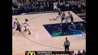 Russel Westbrook Free Throw Dunk On Gobert