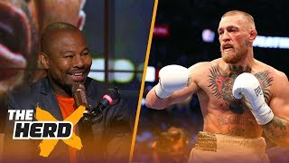 'Sugar' Shane Mosley reacts to McGregor's performance against Mayweather | THE HERD