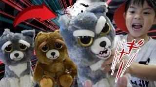 ハロウィン 恐怖ドッキリ お化け屋敷に超オススメ!アメリカで大人気 ぬいぐるみ おもちゃ!Feisty Pets