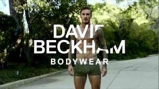 David Beckham Bodywear Underwear for H&M Commercial