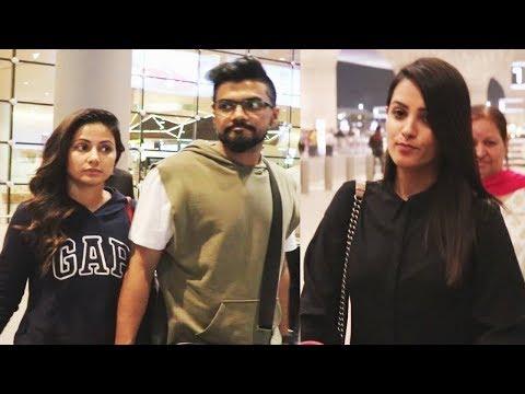 Xxx Mp4 Hina Khan Spotted With Boyfriend Rocky Jaiswal At Mumbai Airport Anita Hassanandini 3gp Sex