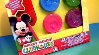 Play Doh A Casa Do Mickey Mouse Play Dough Kit Disney Junior Mickey Mouse Clubhouse 15 Jogos