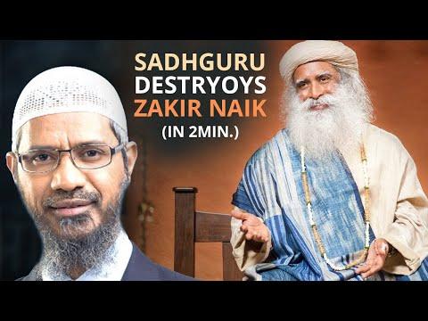 SADHGURU DESTROYS Zakir Naik s SHIRK Branding