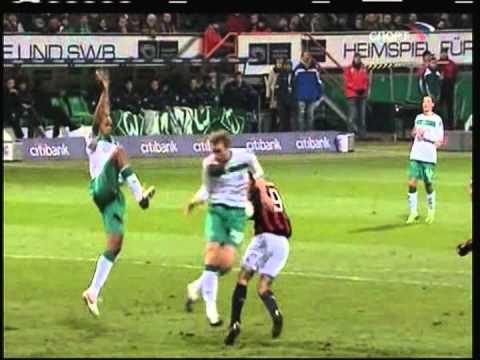 2009 (February 18) Werder Bremen (Germany) 1-AC Milan (Italy) 1 (Europa League)