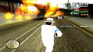 GTA San Andreas Especial de Michael Jackson whit songs of Smooth Criminal & BAD