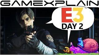 E3 Day 2 Wrap-Up: Team Sonic Racing, Resident Evil 2, Killer Queen Black, & MORE Smash Bros.