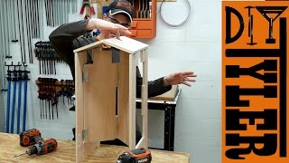 Folding Plywood Stool | A SUPER Functional Project
