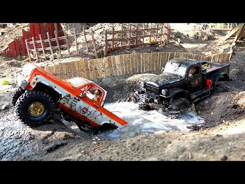 Xxx Mp4 Two Trucks Compete On A Large Backyard Scale Trail Park RC ADVENTURES 3gp Sex
