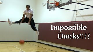 IMPOSSIBLE Dunks!!?? Which Dunks Are Possible!?