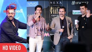This Time We Have Mr. Salman Khan Performing | Saif Ali Khan On After Party At IIFA Awards