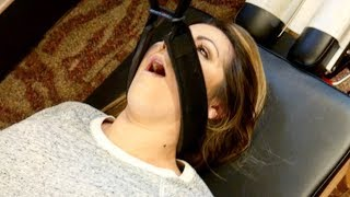 Migraine Headache *STOPPED INSTANTLY* after Y-STRAP Chiropractic Adjustment by  Dr Joseph Cipriano