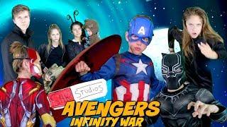 Avengers Infinity War Trailer Parody by SuperHero Kids In Real Life