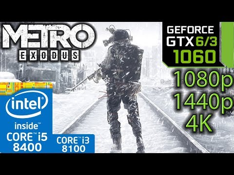 Xxx Mp4 Metro Exodus GTX 1060 6gb 3gb I5 8400 I3 8100 1080p 1440p 4K Benchmark PC 3gp Sex