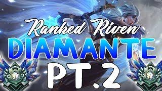¡¡ASI GANE LA PROMO A DIAMANTE!! PT.2 • RANKED RIVEN TOP GAMEPLAY S7 7.12 2017  • KERIOS