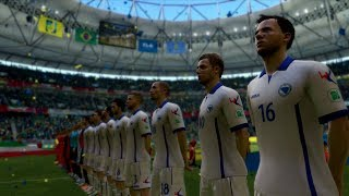 FIFA World Cup 2014: Bosnia/Herzegovina vs Iran (Group F) Simulation (EA FIFA World Cup 2014 Brazil)