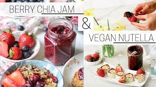 VEGAN NUTELLA & CHIA SEED JAM » easy homemade recipes