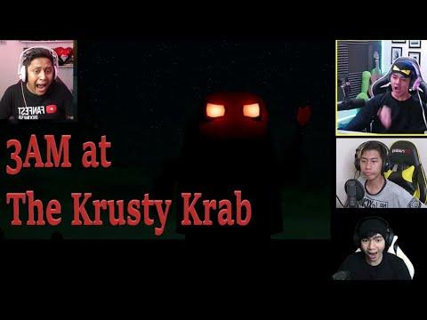 Xxx Mp4 Reaksi Kaget Gamer Indo Ketemu The Hash Slinging Slasher 3 AM At Krusty Krab 3gp Sex