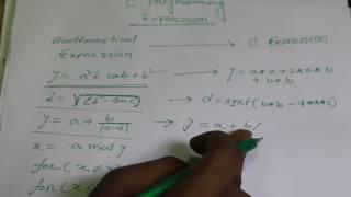 How To write C Programming expression (Bangla) | HSC ICT Bangla Tutorial