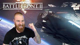 Star Wars Battlefront II - Starfighter Assault Official Reveal Trailer Reaction