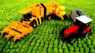 Tolle Spielzeugautos - Die Helfer Autos arbeiten auf dem Bauernhof