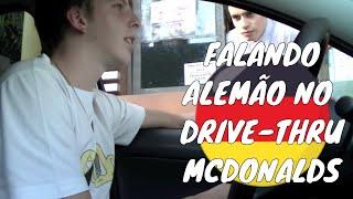 Falando alemão no Drive-Thru