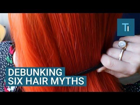 A Hair Scientist Debunks 6 Common Myths About Hair