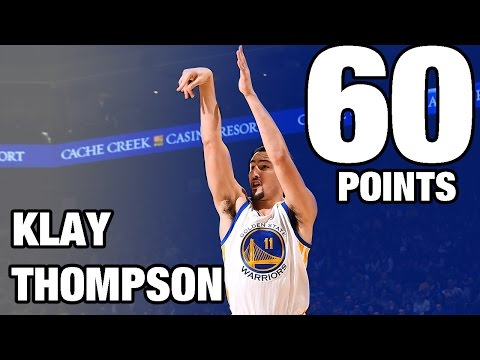 Xxx Mp4 Klay Thompson CAREER HIGH 60 POINTS In 29 Minutes 12 05 16 3gp Sex