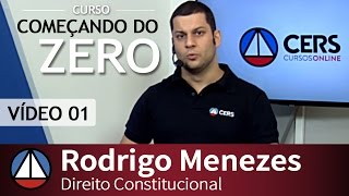 35% OFF - Curso de Direito Constitucional - Rodrigo Menezes