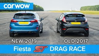 New Ford Fiesta ST 1.5 vs old 1.6 ST DRAG RACE & ROLLING RACE   carwow