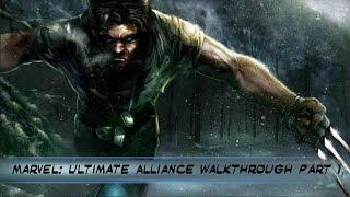 Marvel: Ultimate Alliance PS4 Walkthrough Part  1