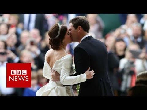 Xxx Mp4 Royal Wedding Princess Eugenie Marries Jack Brooksbank BBC News 3gp Sex
