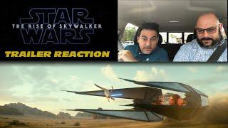 STAR WARS EPISODE 9 TRAILER REACTION THE RISE OF SKYWALKER
