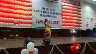 Cham cham...... ZEAL 2016-2017 fresher dance performance