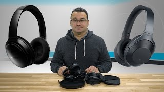 Bose QuietComfort 35 and Sony MDR1000X/B Headphone Comparison