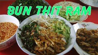 ĐIỂM TÂM SÁNG VỚI MÓN BÚN THỊT RANG đảm bảo ngon luôn - Hồng Thanh Food